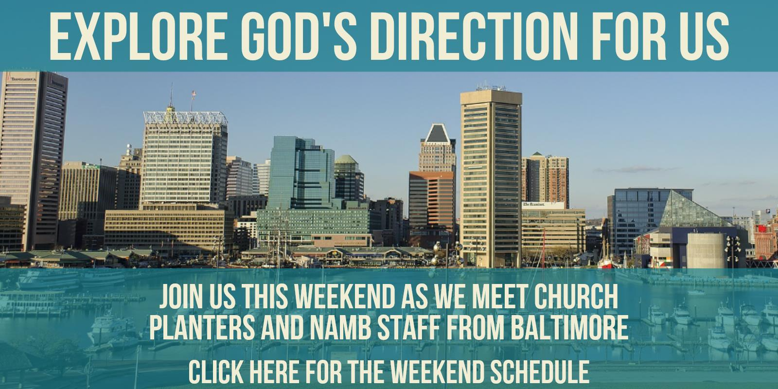 Join Us This Weekend